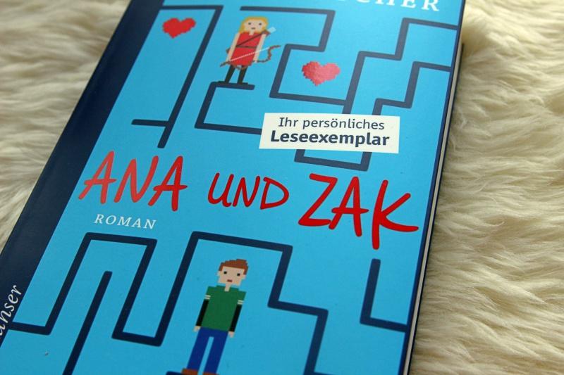 """""""Ana und Zak"""" von Brian Katcher"""