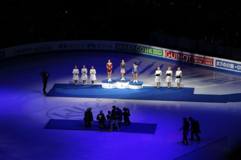 podium ladies