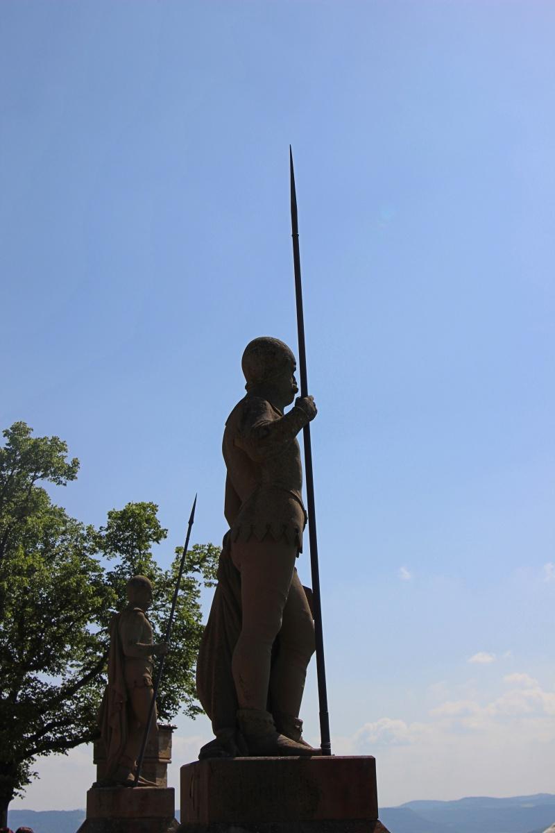 Statue auf Burg Hohenzollern