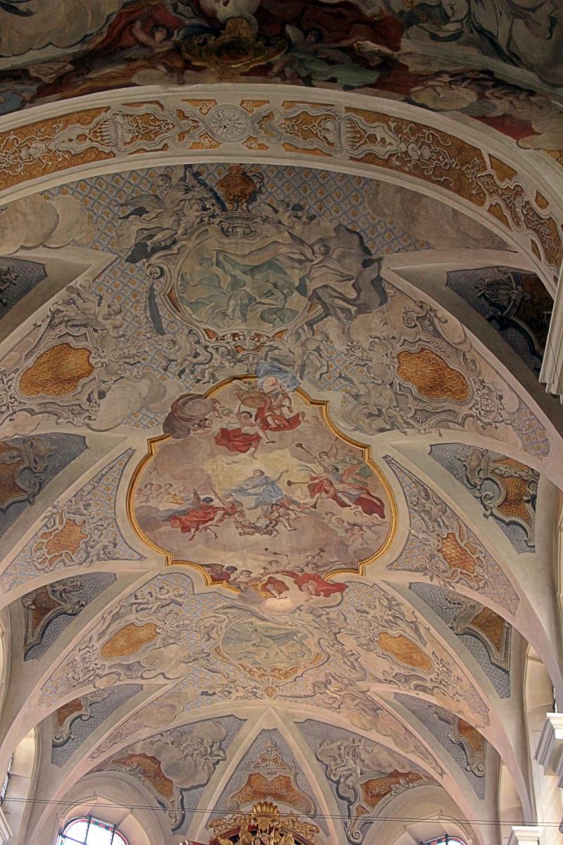 Beeindruckendes Deckengemälde in einer Rottweiler Kirche