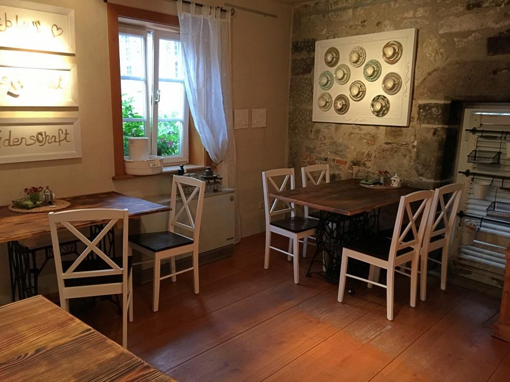 Das Waffel-Café in Maulbronn