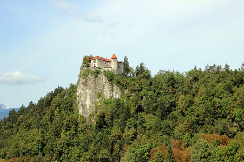 Die Burg am Bleder See