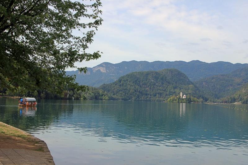 Kircheninsel im See von Bled