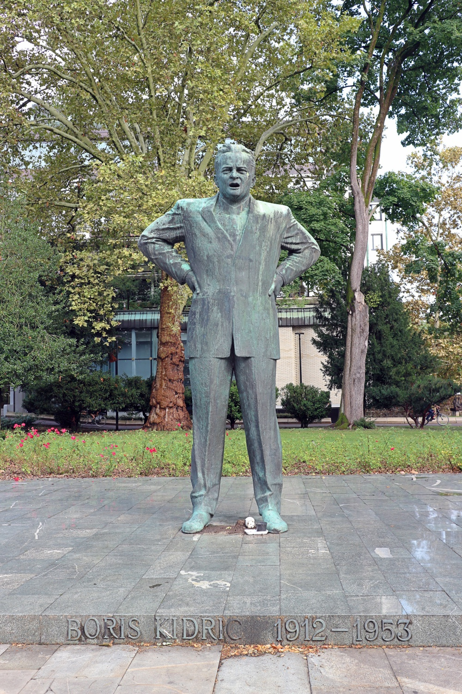 Statue von Boris Kidric