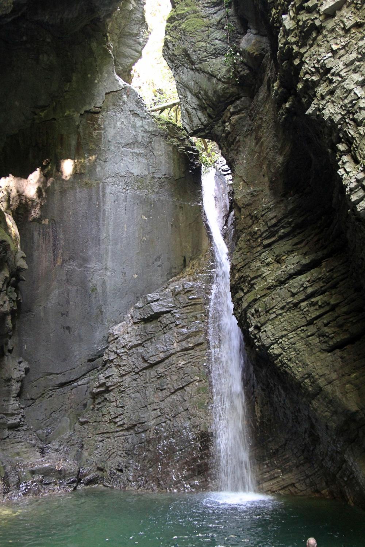 Kozjak-Wasserfall
