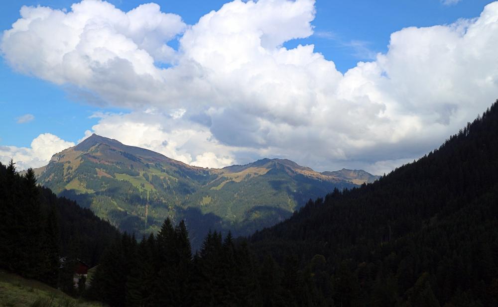 Blick von der Bergkristallhütte