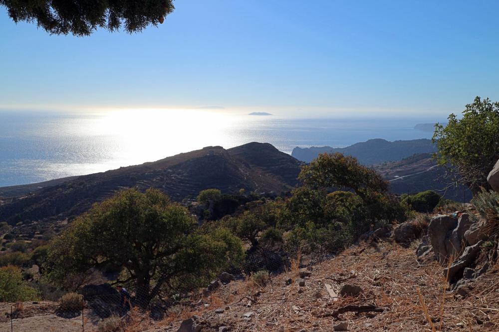 Blick auf das Meer von Nisyros