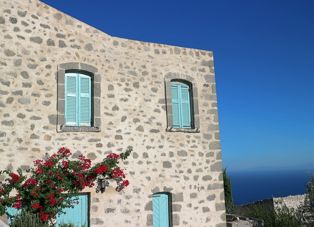 Gebäude auf Nisyros