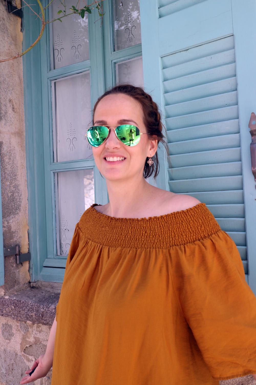 Steffi auf Nisyros