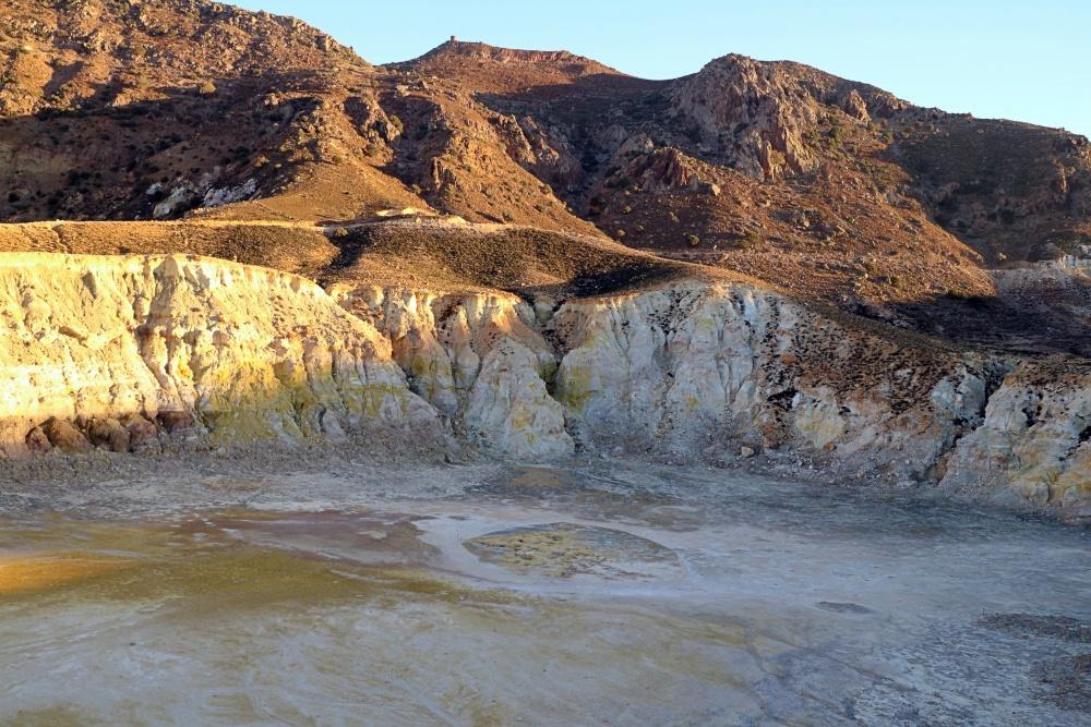 Vulkankrater auf Nisyros