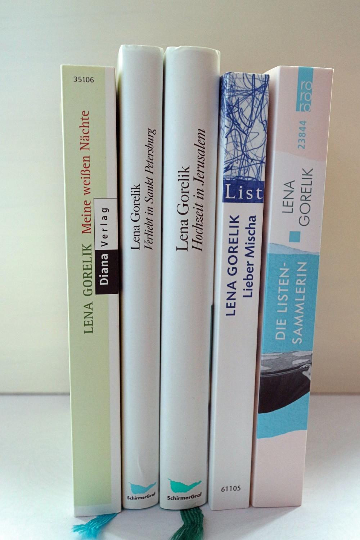 Meine Bücher von Lena Gorelik