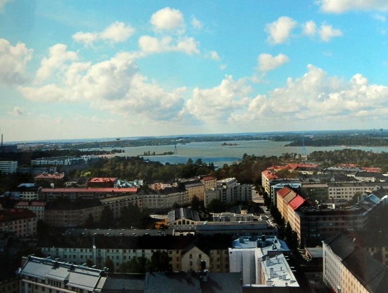 Blick auf Helsinki vom Olympiaturm
