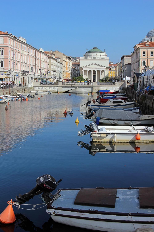 Kanal in Trieste