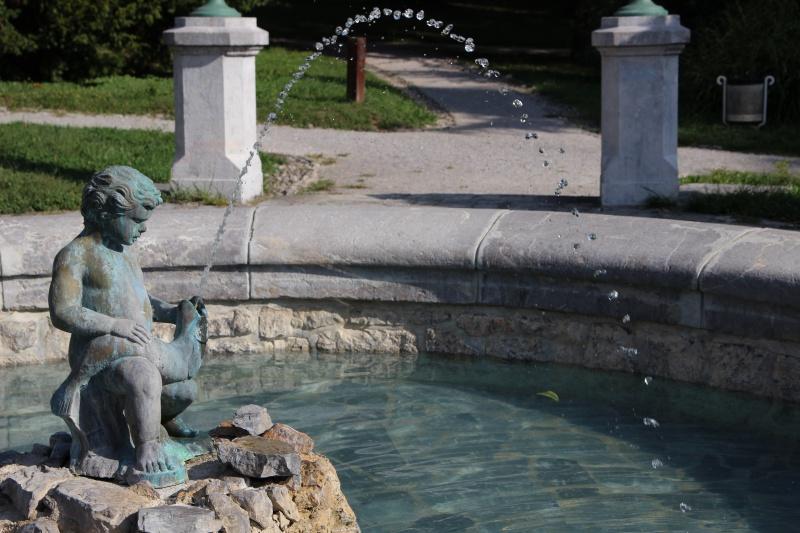 Brunnen im Tivoli Park