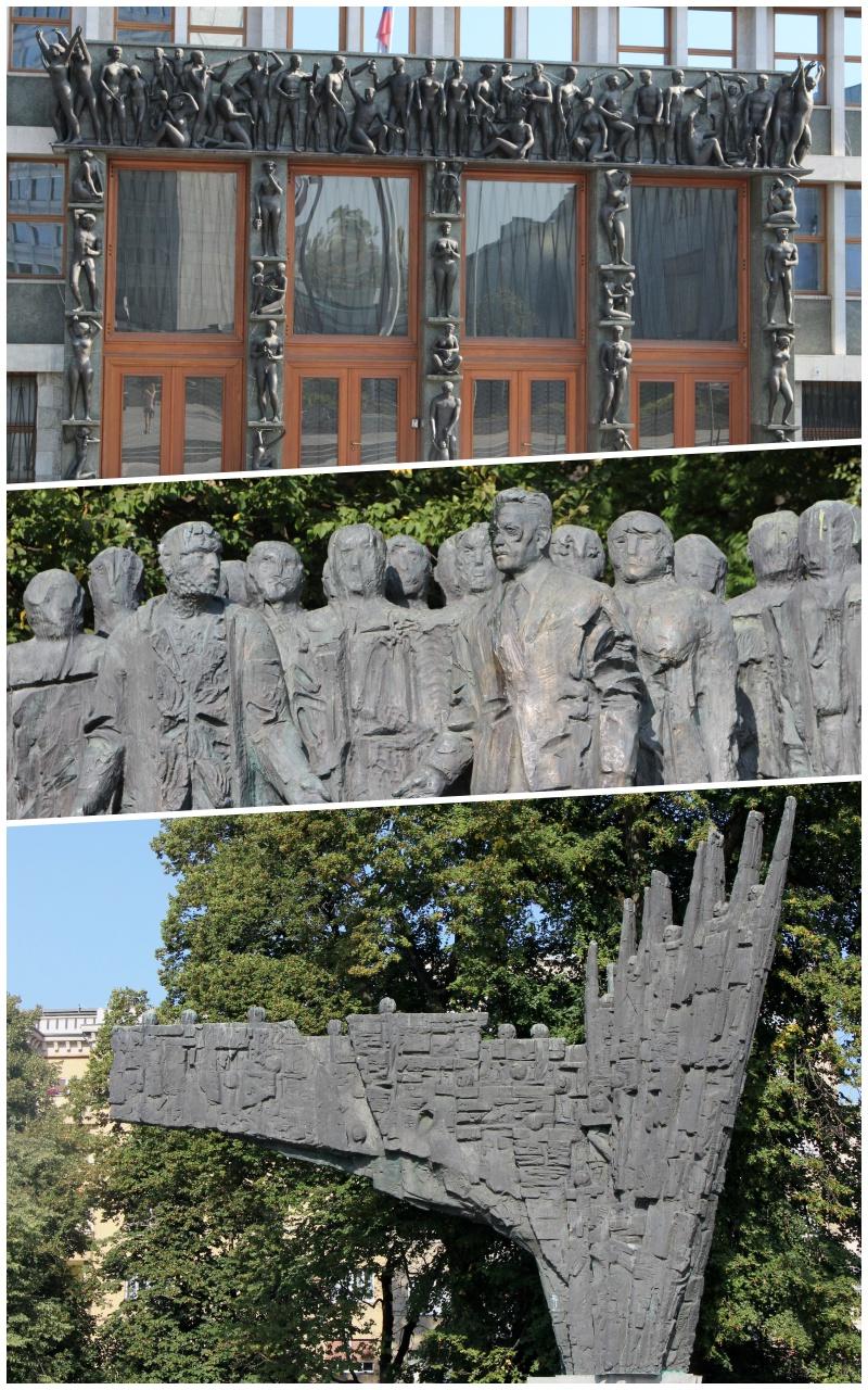 sozialistische Kunst von Ljubljana