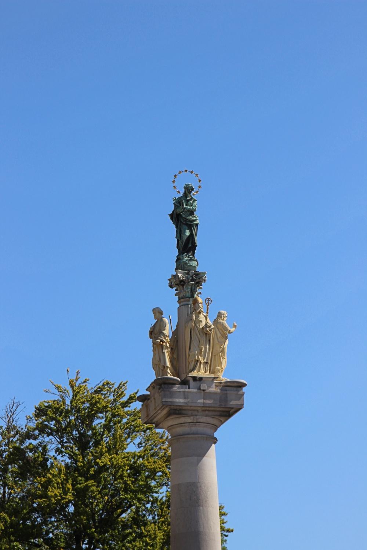 Statue in Ljubljana