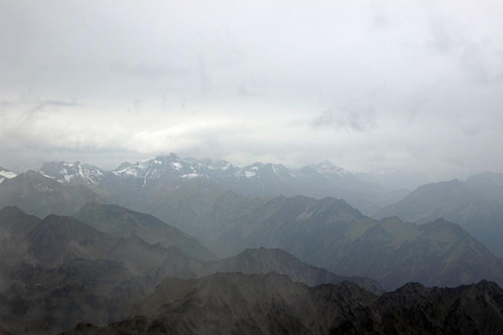 Nebelhorn im Nebel