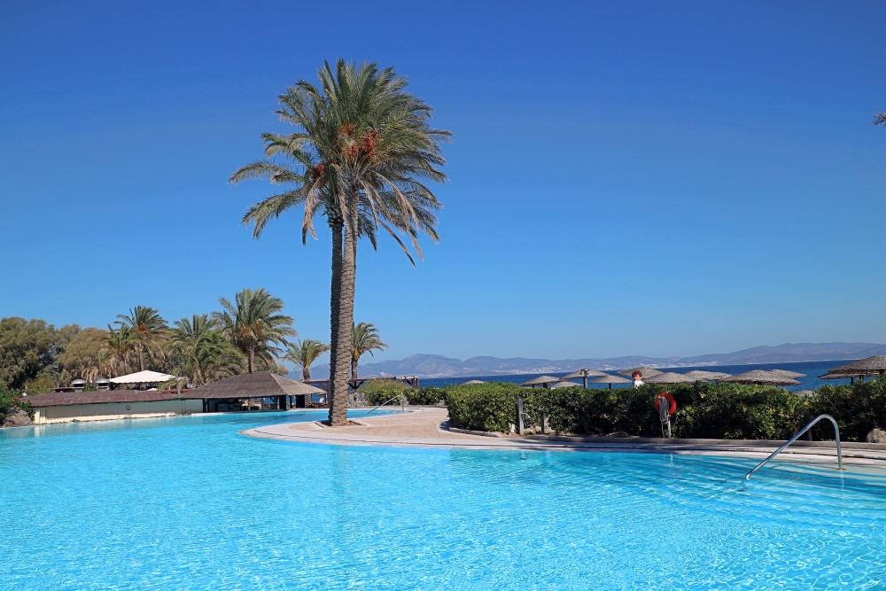Grecotel Kos Imperial Pool mit Palmen