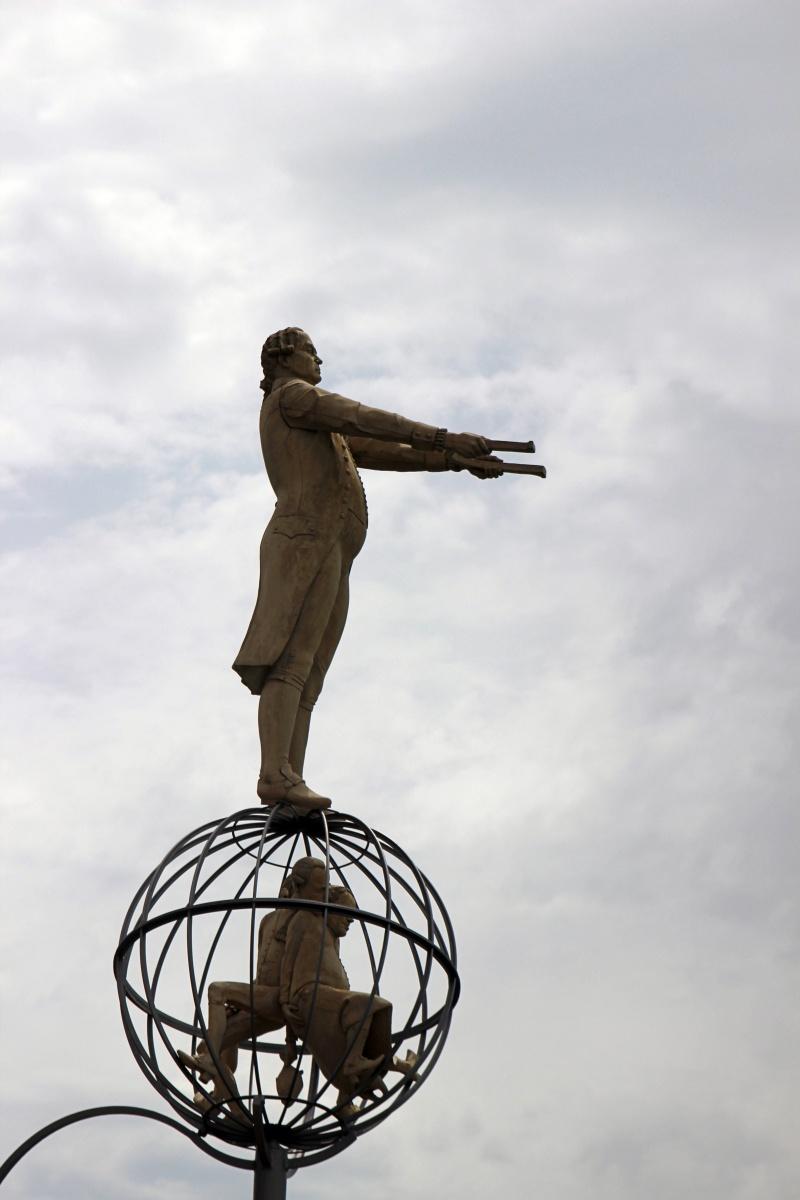 Skulptur im Hafen von Konstanz