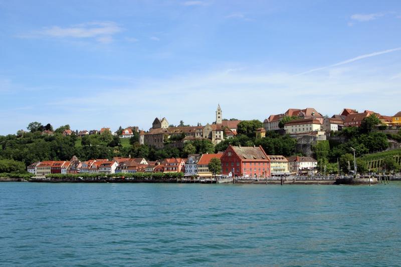 Blick auf Meersburg am Bodensee