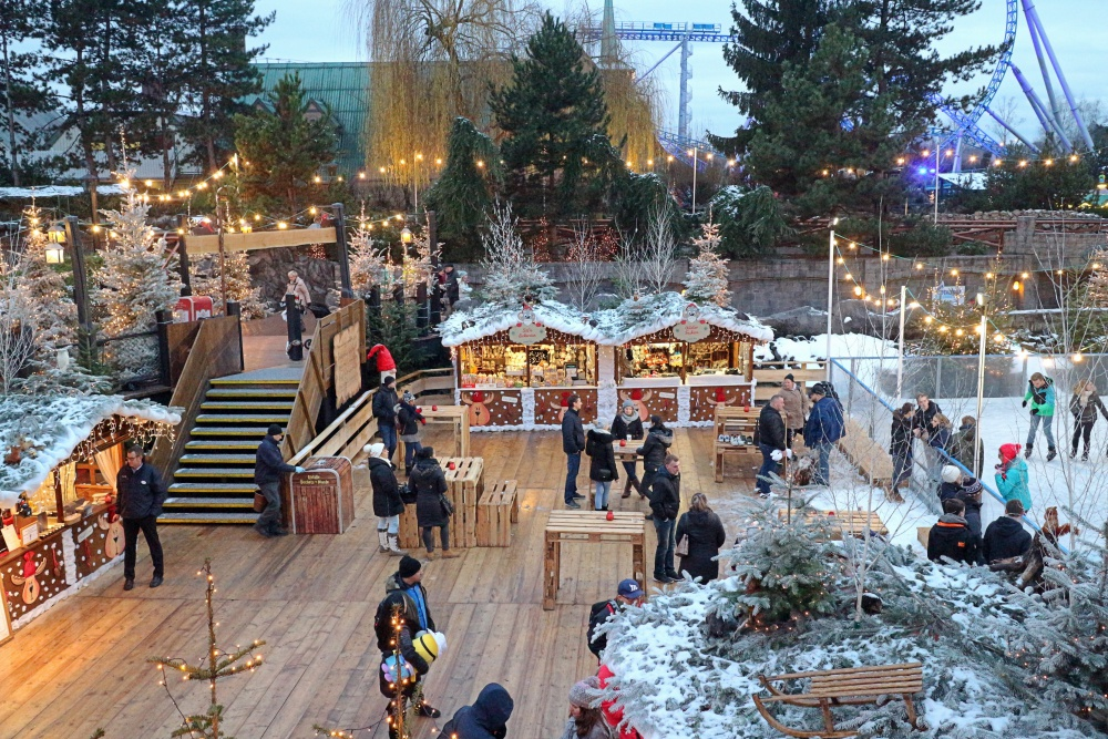Winter im Europapark