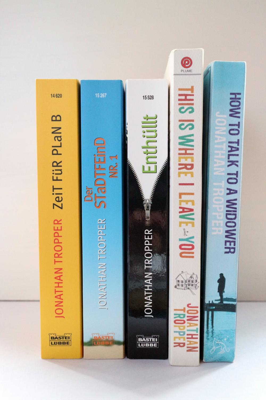 Meine Bücher von Jonathan Tropper