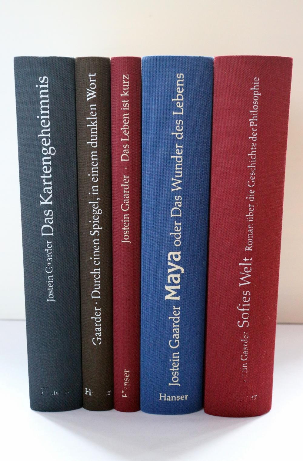 Meine Buchsammlung zu Jostein Gaarder