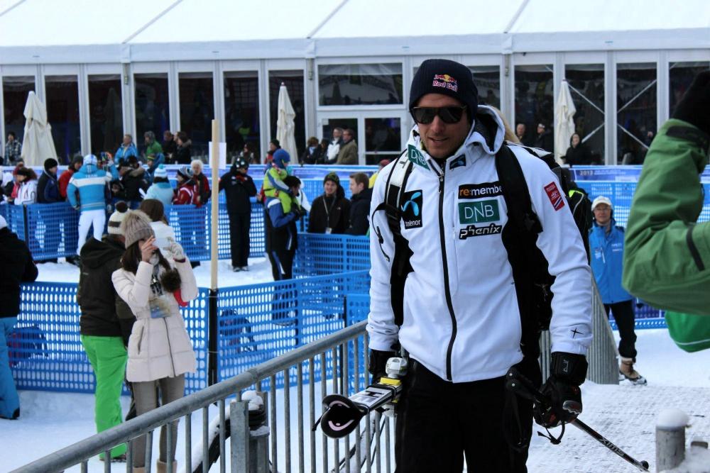 Aksel Lund Svindal Olympiasieger in der Abfahrt