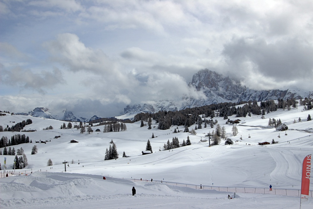 Seiser Alm im Winter - Südtirol ein Wintermärchen