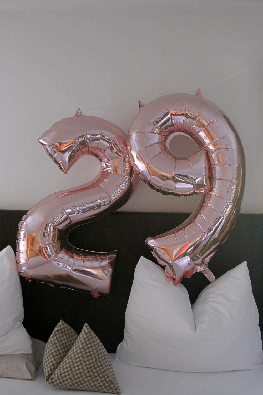 mein Geburtstag - mit Ballons