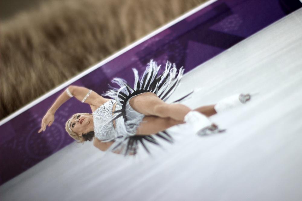 Olympische Spiele 2018 von Sven Simon_Aliona Savchenko Bruno Massot