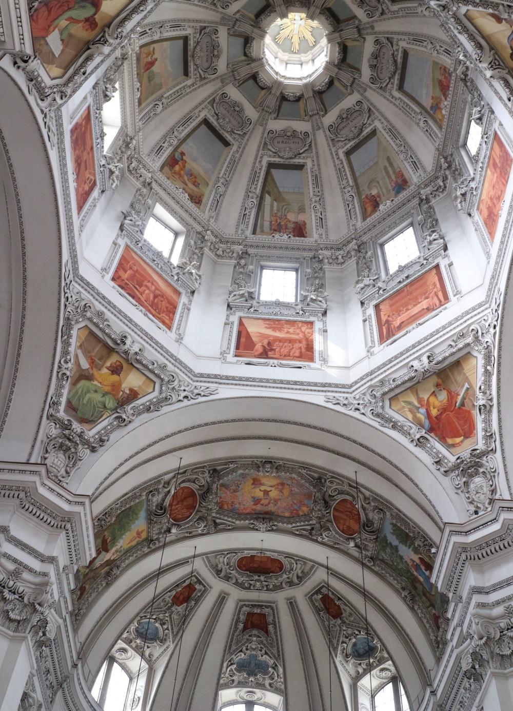 Deckengewölbe Dom von Salzburg