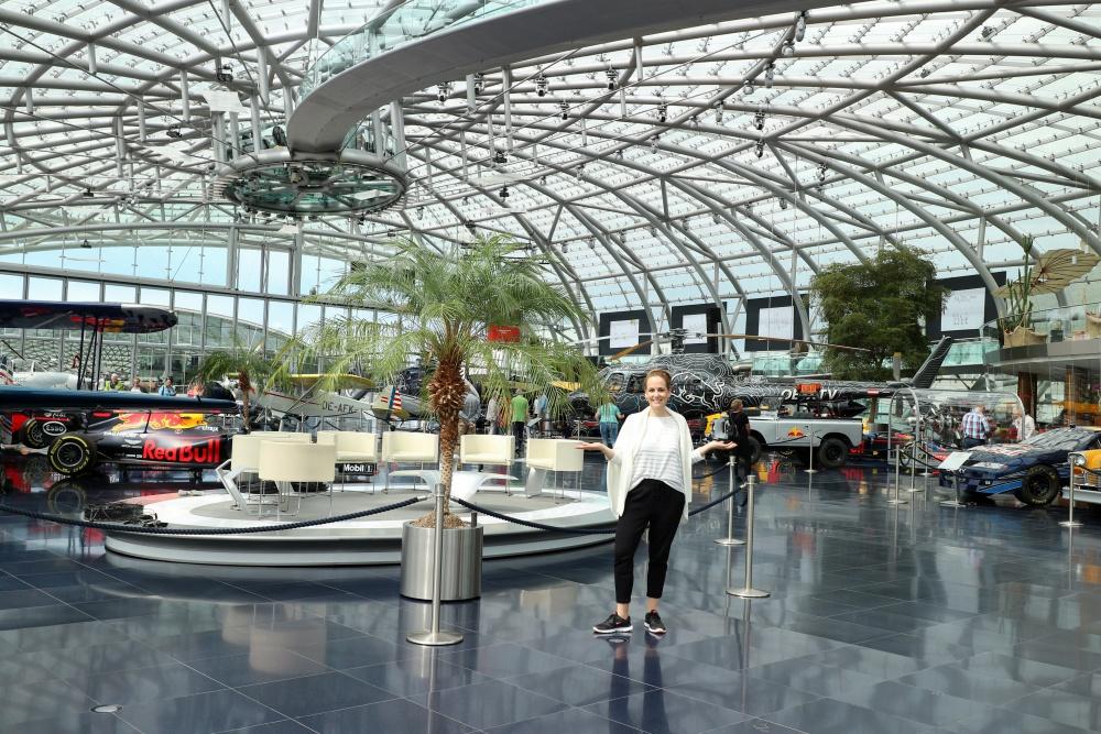 Leselaunen Salzburg Hangar 7