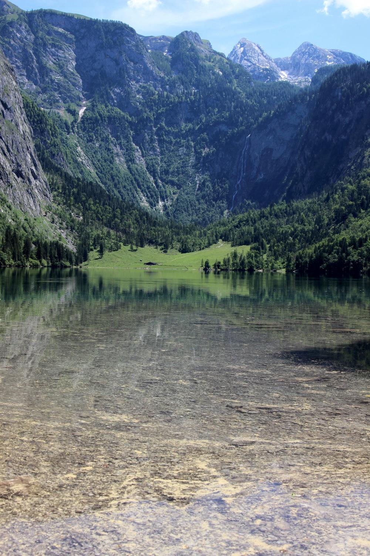 Spiegelung im Königssee