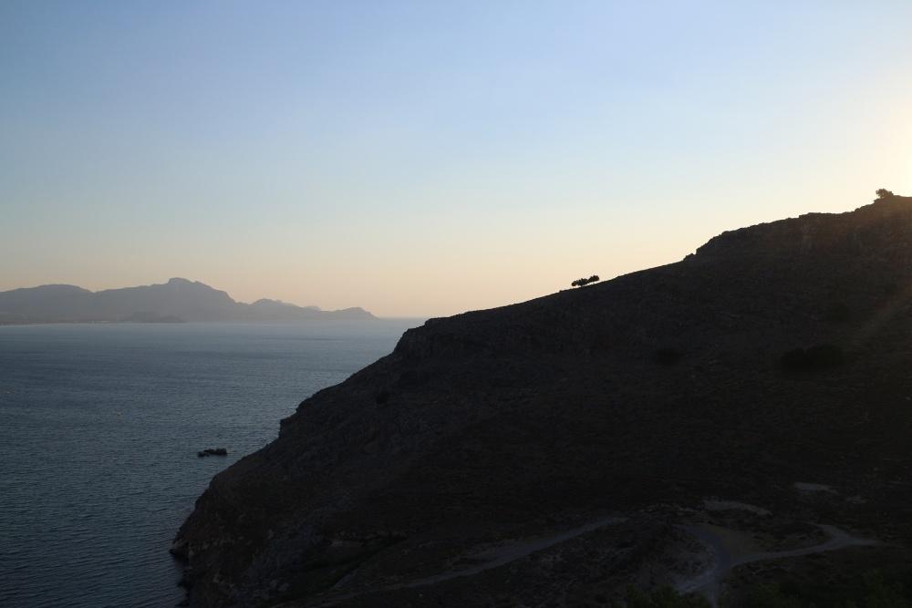 Sonnenaufgang auf Rhodos