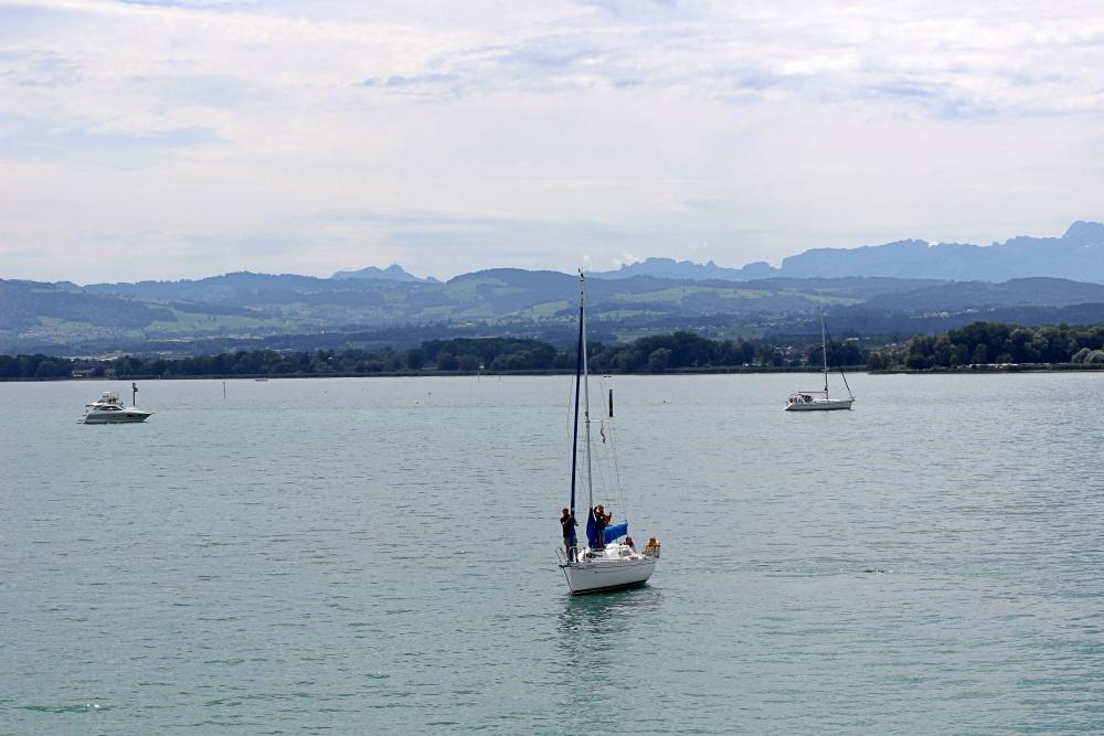 Schiffe auf dem Bodensee