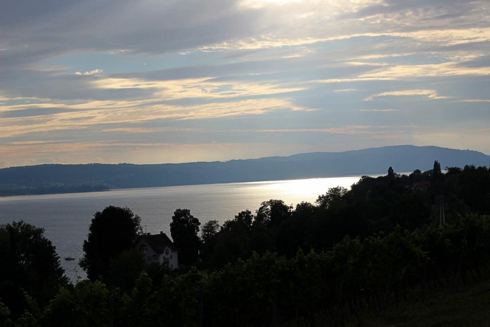 Sonnnenuntergang am Bodensee
