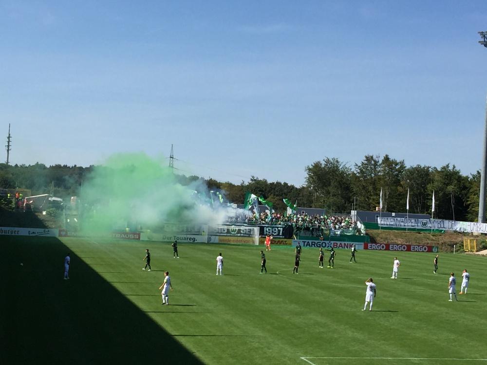 Elversberg gegen VFL Wolfsburg