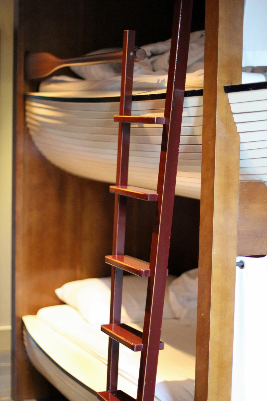 Europa-Park Bell Rock Zimmer Stockbett Boot
