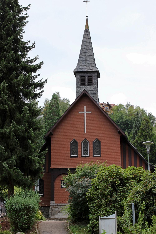 Stabkirche von Ottenhöfen Grat