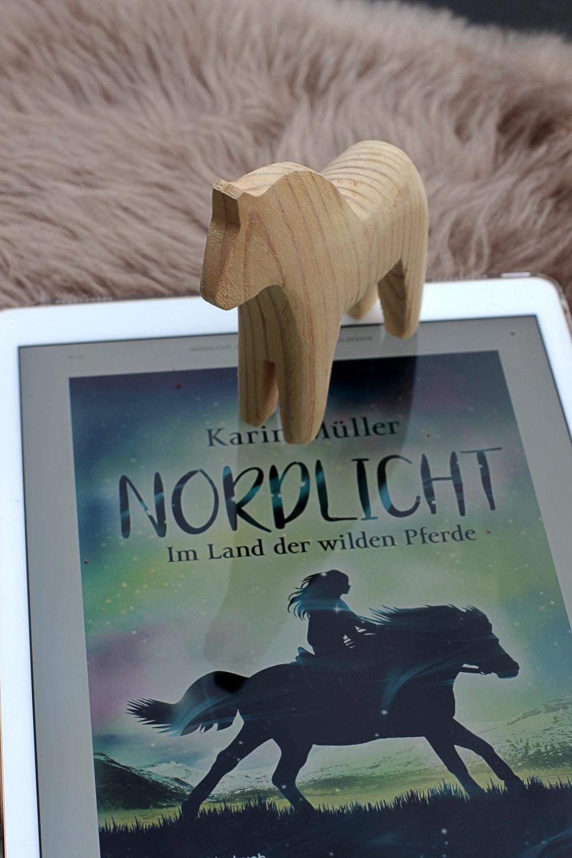Nordlicht Im Lander wilden Pferde von Karin Müller