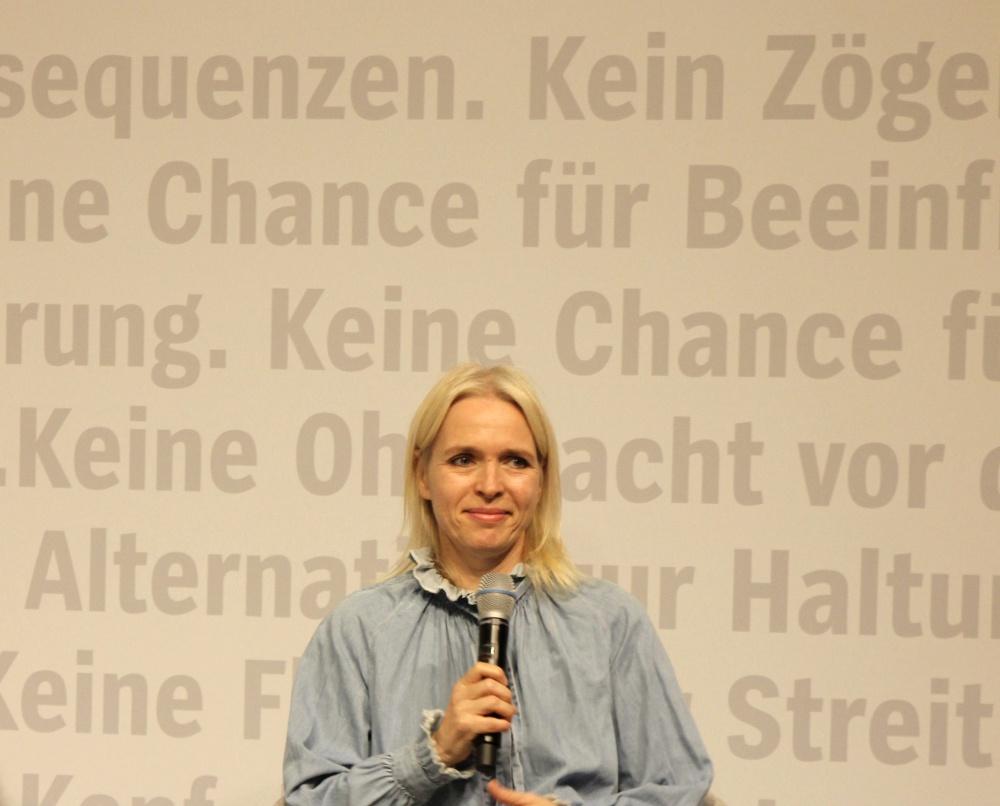 Frankfurter Buchmesse 2018 Annette Hess