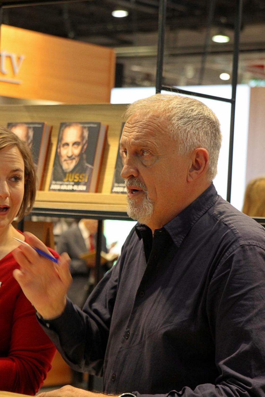 Frankfurter Buchmesse 2018 Jussi Alder Olsen