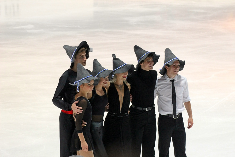 The winner of the 2018 Nebelhorn Trophy