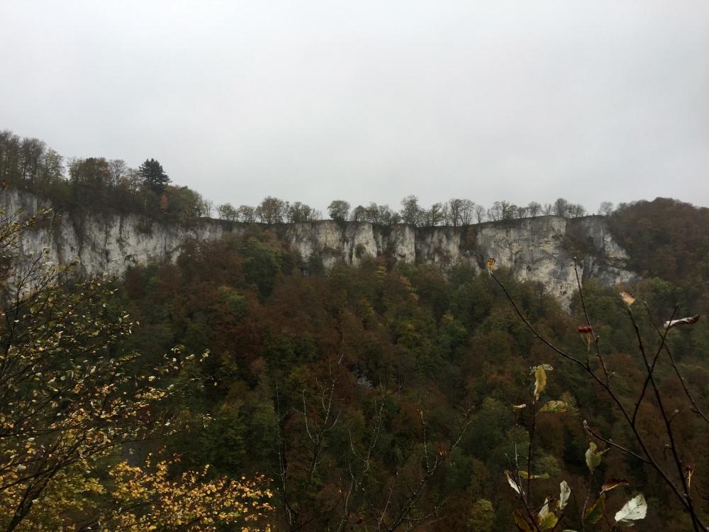 Felsen Wasserfallsteig