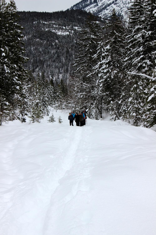 Schneeschuhwandern in Reutte
