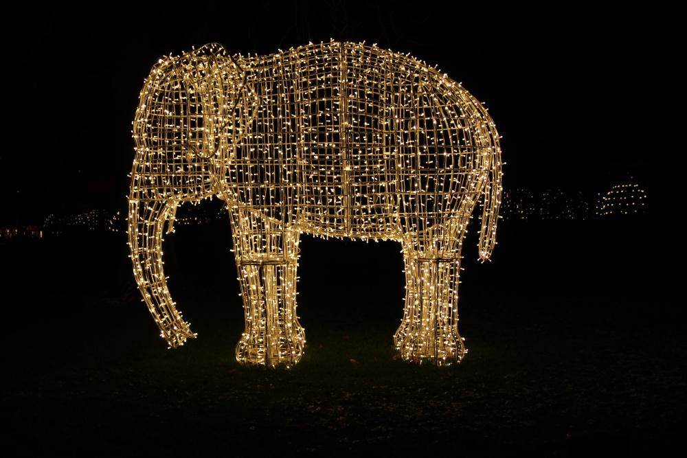 Christmas Gardner Stuttgart Elefant