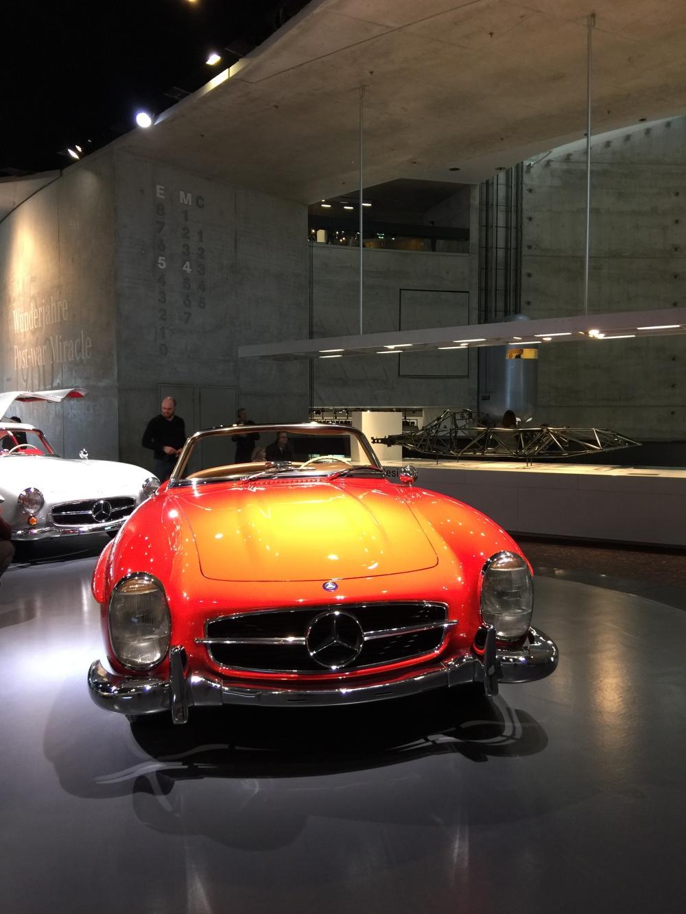 Leselaunen Mercedes Benz Museum