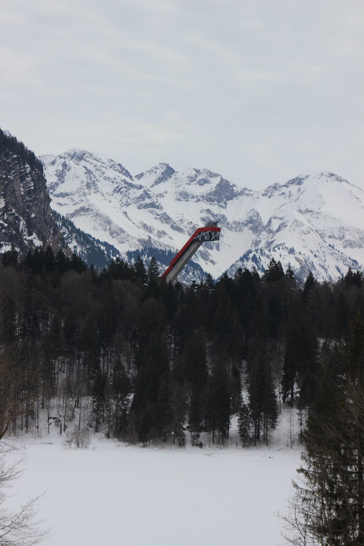 Oberstdorf im Schnee