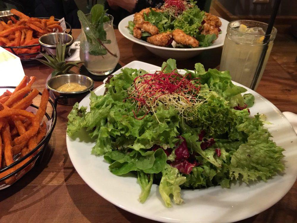 """Salat im """"Kitchen"""""""